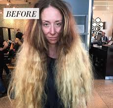 this extreme hair makeover will make your jaw drop allure
