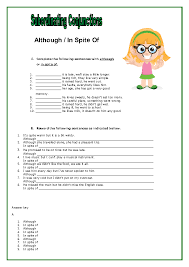 conjunctions worksheet ii