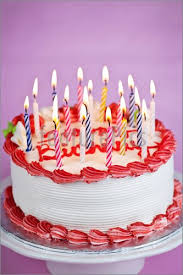 birthday cake candles birthday cake with candles image