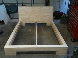 stylish platform bed plans with best 25 platform bed plans ideas
