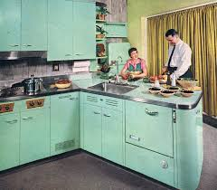 restoring the retro house 1950s steel and kitchens