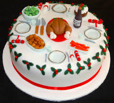 Christmas Cake Decoration Ideas Uk Christmas Cakes