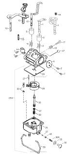tecumseh tec 640065a parts diagrams