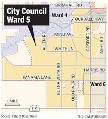 Csub Map Want To Run For City Council Here U0027s How News Bakersfield Com