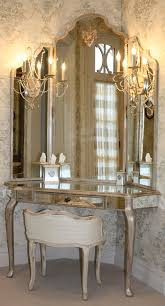 aico hollywood swank vanity guilded french dressing table with three way mirror can you say