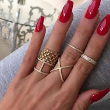 36 my favorite nails summer red colour 2017 red manicure red