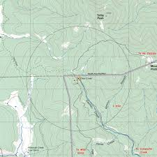 Philmont Scout Ranch Map Clear Creek Camp