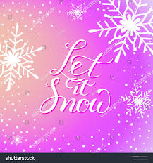 let snow greeting card new stock vector 536888350