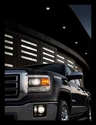 silveradosierra com u2022 led light strip on 2009 sierra headlight