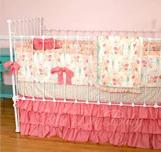 floral baby bedding crib carousel designs photo on outstanding