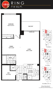 infinity 3 in toronto on prices u0026 floor plans