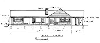trendy idea 12 3 bedroom house plans with front view