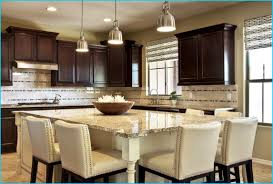 granite kitchen island with seating fabulous kitchen island with