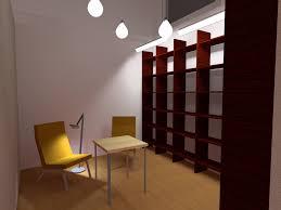 bibliothek wohnzimmer beleuchtung einer kleinen bibliothek ohne fenster lichtdesign
