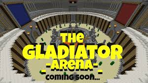 Arena Maps The Gladiator Arena Pvp Wip Mcpe Wip Maps Mcpe Maps
