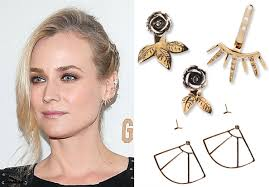 earring jacket these trendy new ear jackets are not your average earrings