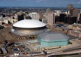 mercedes dome orleans the mercedes superdome in orleans louisiana