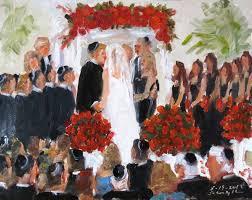 wedding ceremonies wedding ceremonies painted live by the event painter joan zylkin