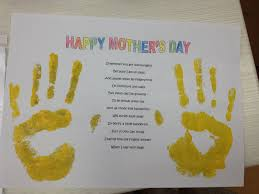 ever after my way mothers day handprints and footprints crafts
