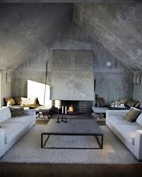 Interior Concrete Walls by 10 Amazing Living Room Interior Design Ideas With Concrete Walls