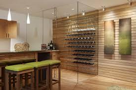 cave a vin dans cuisine caves à vin silice cambium