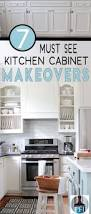 must see kitchen cabinet makeovers painted furniture ideas