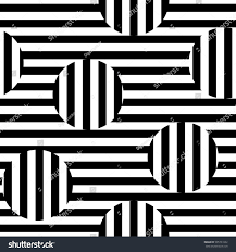 vector monochrome seamless pattern black white stock vector vector monochrome seamless pattern black white striped texture visual illusion effect horizontal