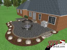 Patios Designs Brick Patio Design In Bruce Twp Mi Brick Paver Installation