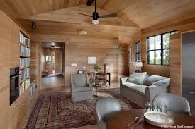 Modern Rug Company 19th Century Laver Kirman Carpet In Family Room