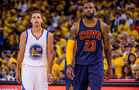 How Much Does Stephen Curry Bench Video Stephen Curry Shakes Lebron James Drains Jumper In Game 1