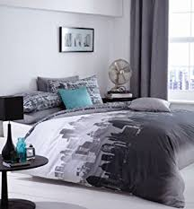 New York Bed Set Catherine Lansfield City Scape New York Nyc Single