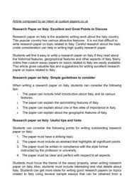 interesting topics for thesis paper calaméo research paper on italy excellent and great points to