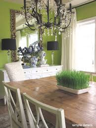 dining room behr anime paint farm table crystal chandelier
