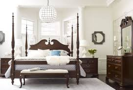 Kincaid Bedroom Furniture Hadleigh Rice Carved King Poster Bed From Kincaid Furniture