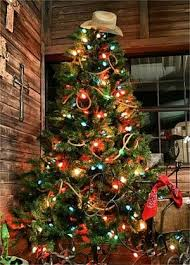 Christmas Trees With Lights Best 25 Western Christmas Tree Ideas On Pinterest Western
