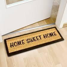 zerbino di cocco relaxdays relaxdays tappetino da ingresso zerbino con la scritta