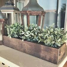 rustic wood box centerpiece rustic spring planter box centerpiece