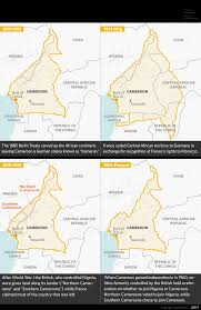 Map Of Cameroon Cameroon U0027s Fighting Words Are In English Stratfor Worldview