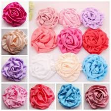how to make baby headbands with flowers aliexpress buy diy flower for headband cotton puff