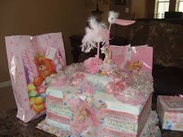 Baby Showers Decorations by Ana Silk Flowers Girls Baby Shower Decorations Ideas