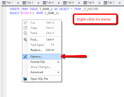 how to create temp table in sql netezza sql and admin aginity keep connection open to preserve