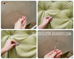 Upholstery Needles Remodelaholic Upholstered Tufted Headboard Tutorial