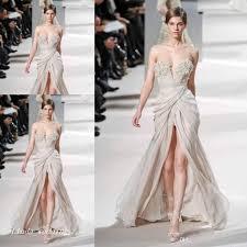 haute couture prom dress elie saab floor length long chiffon
