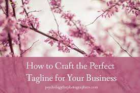 Wedding Taglines How To Craft The Perfect Tagline For Your Business Psychology