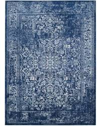 Navy Area Rug Get The Deal Safavieh Evoke Navy Ivory Area Rug Evk256a Rug