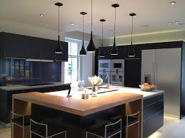 Modern Kitchen With Island Modern Black Kitchen Designs Remodeling Contractor