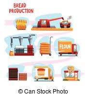 from farm to table fresh baked bread from farm to table advertising poster eps