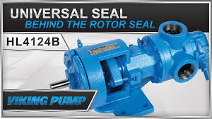 viking pump universal seal series with behind the rotor seal