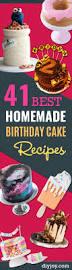 41 homemade birthday cake recipes diy joy
