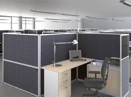 bureau paysager cloisonnette de bureau eco